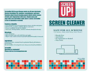 Screen Up Label