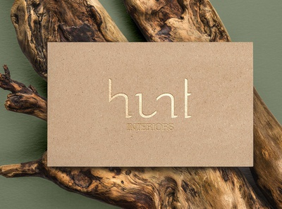 Hunt Interiors Identity Concept