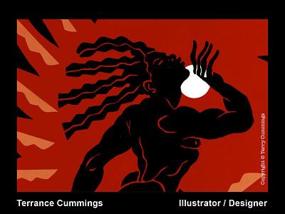 Go Dwn Moses DRIBBLE 2020 08 01 terrancecummings terrancecummingsstudio editorial black  white logo icon editorial illustration illustration illustrator book cover