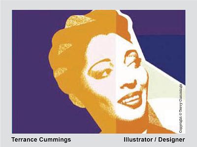 Carmen DRIBBLE 2020 08 01 terrancecummingsstudio terrancecummings romance logo design flat illustrator soul jazz music