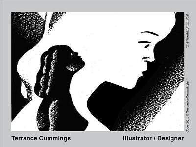 A woman's issue randomhouse illustration editorial terrancecummings thebostonglobe thewashingtonpost workbook print