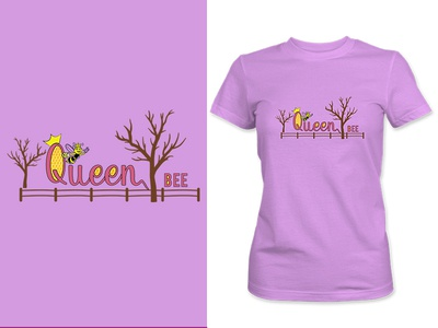 Queen Bee women t-shirt