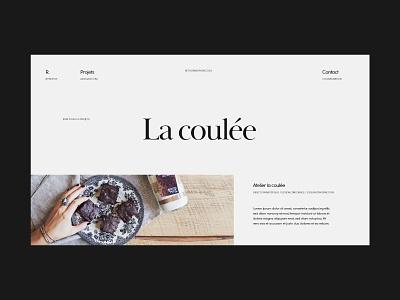 Project page web web design design ux minimalistic minimalist design ui elegant typogaphy layout