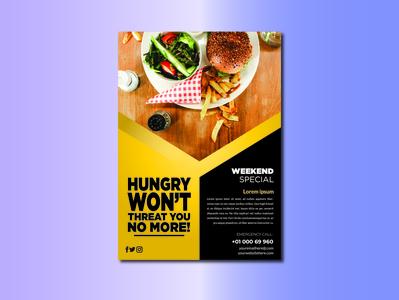 Flyer Template for restaurant