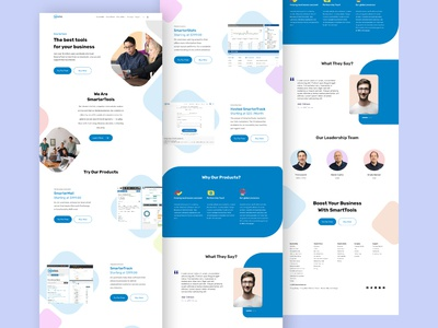 Landing Page Redesign - SmarterTools