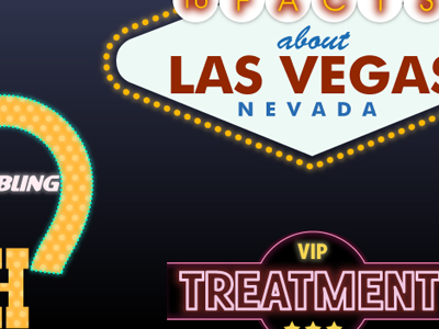 Las Vegas Neon Signs infographic las vegas vegas neon signs
