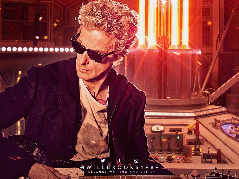 Doctor Who Twelfth Doctor By Will Brooks Dribbble Dribbble