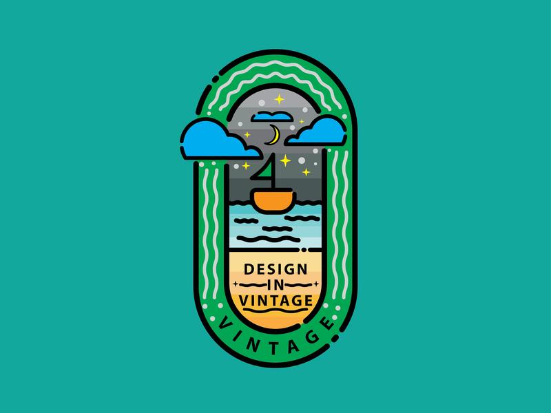 Vintage Logo Concept 1 vintage logo stroke illustration identity graphics graphic design vector minimal logo illustration icon flat design branding