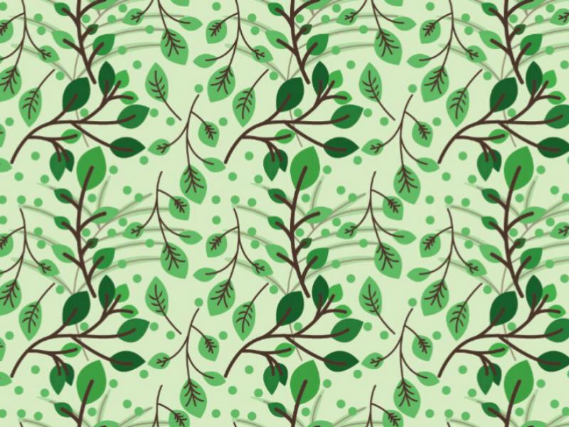 LEAF PATTERN design graphics wallpapre background vector illustration leaf design pattern