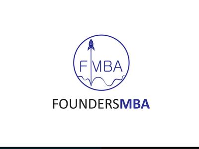 FoundersMBA Logo Design.