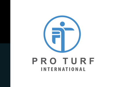 Pro Turf International Logo Design.