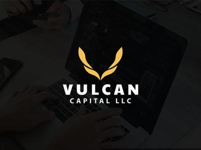 VULCAN CAPITAL LLC Logo Design.