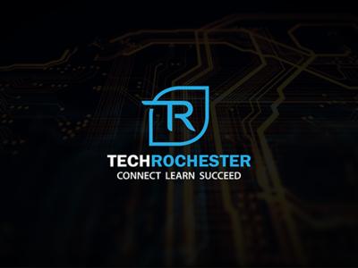 TechRochester Logo Design.