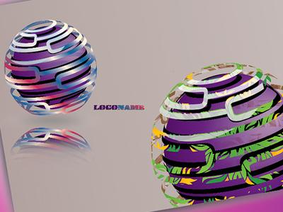 3D Logo Design.