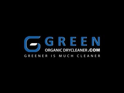 GREEN ORGANIC DRYCLEANER.COM Logo Design