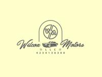 Wilcox Motors LLC Logo Design.