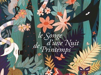 "Wine Label ""le Songe d'une Nuit de Printemps"""