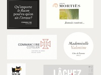 Wine Labels Collection 2017-2019