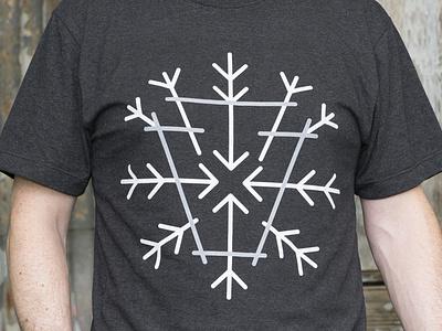 Gilson Shirt 2 snowflake snow skiing ski ride pennsylvania pa keystone snowboarding snowboards snowboard gilson