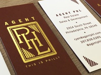 Agent PHL cards