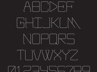 GIVE typeface
