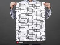 Type Tiles Poster
