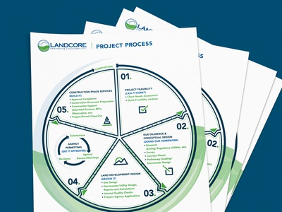 Process Infographic graphicdesign design radial chart icon icons graphic infographic information info