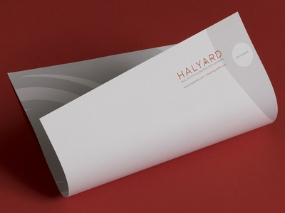 Halyard Stationery design
