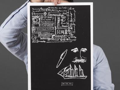 Penmanship poster