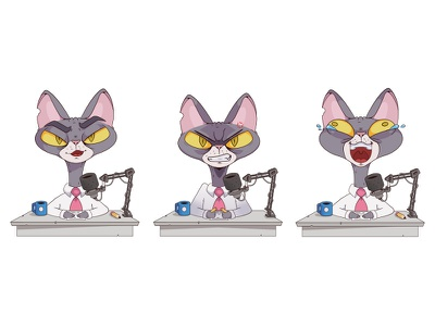 Cat character characterdesign cartoon illustration cartoon character character cartoon illustration flat illustration flat flatdesign vector