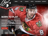 Nick Leddy Player Website