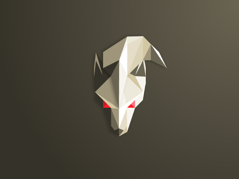 Low Poly Ninetales pokemon ninetales low poly polygon triangle illustration fanart wolf kitsune gaming