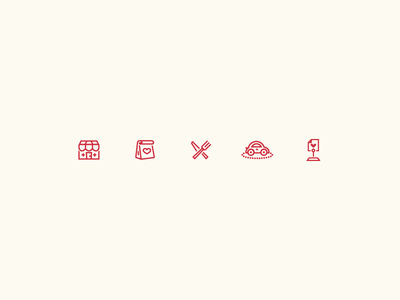 Orderup iOS Icons