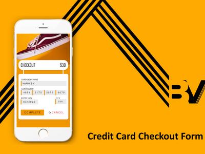 Credit Checkout Form