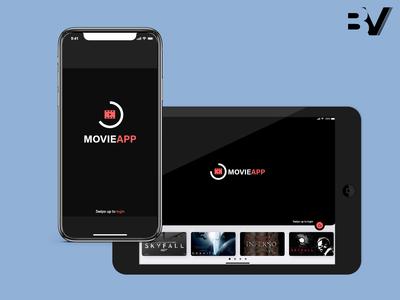Movie App - Landing page - 2
