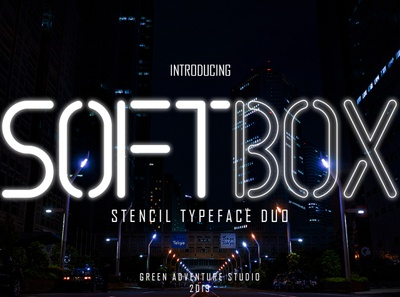 SOFTBOX-NEW FONT PREVIEW