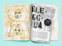 Layout, Pattern & Typography for Greenroom Magazine