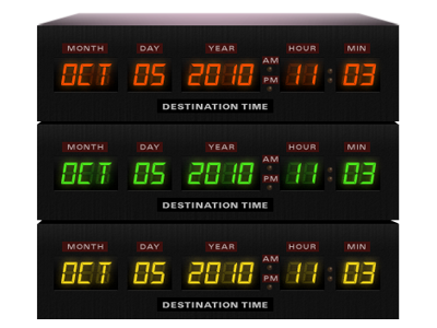 Time Circuit bttf back to the future time circuit nerduo