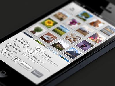 Mainscreen photo iphone ios