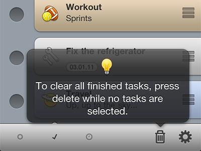 Task Eater Hints taskeater task eater iphone to do todo