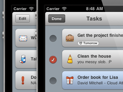 New Categories task eater taskeater todo to do iphone ios