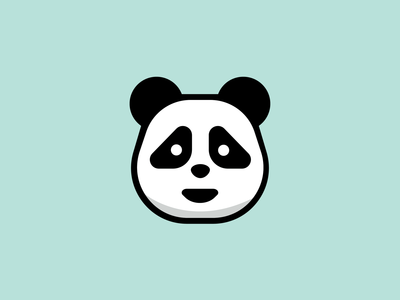 Cute Panda Cartoon cartoon illustration animal panda logo design mascot cartoon illustration minimal flat logo
