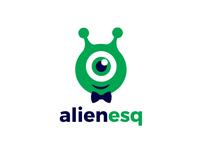 ALIENESQ - Logo Design