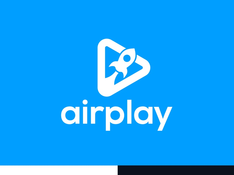 AIRPLAY - Logo Design marketing agency marketing website logo company brand logo branding identity company branding company logos programming company logo app logo vector illustration design graphic design minimal identity flat icon branding logo