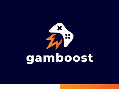 GAMBOOST - Logo Design