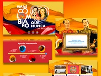 Landing Page Bicentennial Independence of Colombia 2019