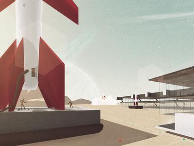 Spaceport Exterior