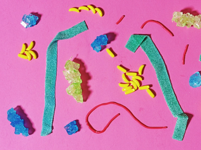 National Candy Day sound design animation stop motion