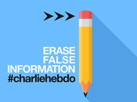 Erase false information #charliehebdo