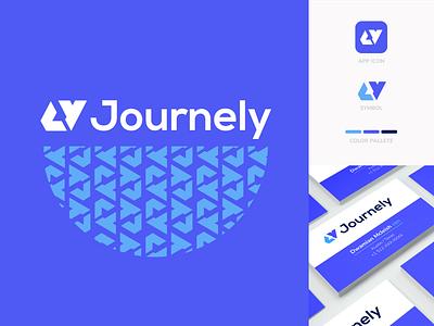 Journely Branding conversations engagement journey technology design branding logo